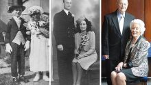 Eski Fotoğraflarını Yeniden Canlandıran  Çiftler