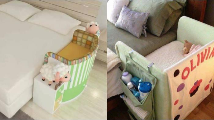 Sıra Dışı Dekoratif Bebek Beşik Modelleri