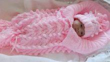 Çok Güzel Bebek Battaniye Modelleri