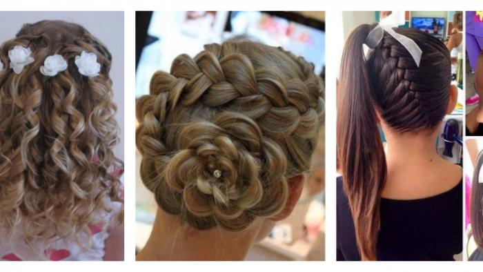 Kız Çocukları İçin Çok Cici Nedime Saçı Modelleri