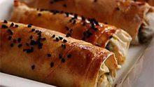 Rulo Peynirli Börek