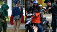 Polisten 'dar pantolon' kontrolü