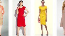 Yeni Sezon Diz Altı  Elbise  Modelleri