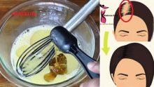 Saç Dökülmelerinizden ve Seyrek Cansız Saçlarınızdan Kurtulmanızı Sağlayacak 2 Saç Toniği Tarifi,Az ve Bulunabilir Malzemeli