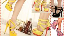 Bu Yazın Modası Bantlı Ayakkabı Modelleri