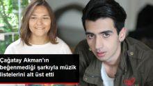 Tuğçe Kandemir, Çağatay Akman'ın Beğenmediği Şarkıyla Meşhur Oldu
