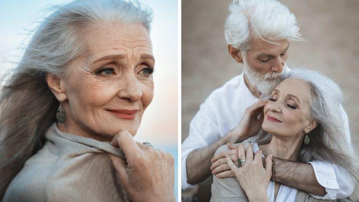 Yaşlı Çiftin Fotoğrafları İnternette Hızla Yayıldı