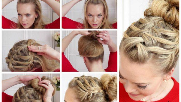 Aşamalı Saç Yapımı Örnekleri