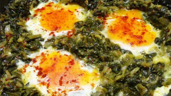 Yumurtalı Semizotu Tarifi