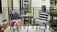 Teras Ve Balkon Dekorasyonu İçin Dekorasyon Önerileri