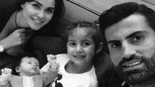 Zeynep Sever Demirel, kaleci eşi Volkan Demirel'in doğum gününü bu fotoğrafla kutladı.