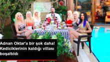 Adnan Oktar'ın Kedicikleriyle Yaşadığı ve Yıkım Kararı Verilen Çubuklu'daki Villası Boşaltıldı
