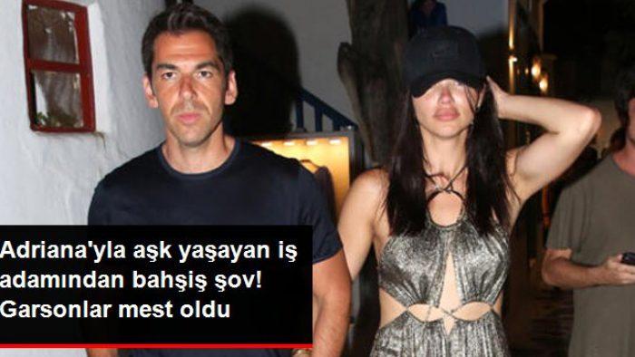 Adriana Lima ile aşk yaşayan Emir Uyar, garsonlara 5 bin lira bahşiş bıraktı
