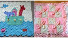 Şirin Bebek Battaniyesi  Örnekleri