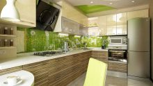 Desenli Mutfak Ve Banyo Dolapları