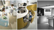 Oval Mutfak Tezgah Tasarımları