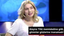 Aleyna Tilki, Memleketine Gitti, Görenler Gözlerine İnanamadı!