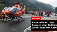 Almanya'da Korkunç Olay: Bir Saldırgan, Camiden Çıkan 5 Türk'ü Kamyonetle Ezdi!