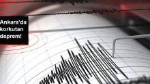 Ankara Çubuk'ta 3,5 şiddetinde deprem meydana geldi!