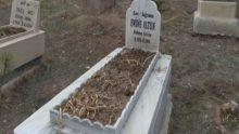 Annesinin Mezarına Giden Talihsiz Kadın, Topraktan Çıkan Bebek Cenazesini Görünce Şok Geçirdi