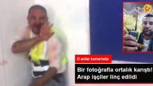 Petrol sahasında Kazak işçiler, Arap işçilere saldırdı! Dehşete düşüren anlar kamerada