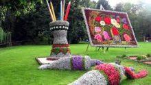 Çılgın Çiçek Parteri Tasarımları