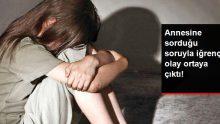 Annesine sorduğu soruyla istismar olayları ortaya çıktı