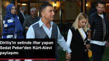 Diriliş Ertuğrul'un Setinde İftar Yapan Sedat Peker'de Kürt-Alevi Açıklaması