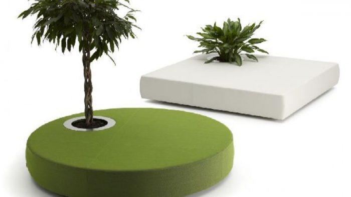 Doğal Bahçe Mobilyası Örnekleri