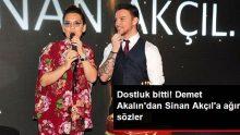 Demet Akalın, yakın arkadaşı Sinan Akçıl'a yeni şarkısı üzerinden gönderme yaptı