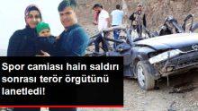 Hakkari'deki Hain Saldırı Sonrası Spor Camiasından Terör Örgütüne Lanet Yağdı!