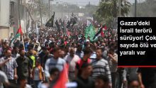 İsrail Askerleri, Gazze Sınırında 3 Filistinliyi Öldürdü, Yüzlerce Filistinliyi Yaraladı