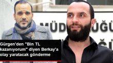 """Gürgen Öz'den """"Aylık Gelirim Bin TL"""" Diyen Berkay Şahin'e Olaylı Gönderme !!"""