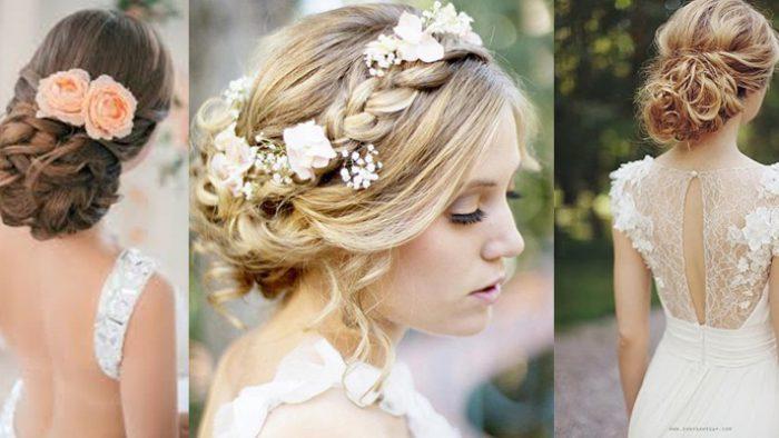 Kır Düğünü İçin Helenistik Gelin Saçı Modelleri
