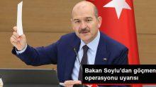Süleyman Soylu'dan kaçak göçmen çalıştıran yerlere operasyon uyarısı