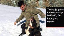 Alt Katta Kafasına Sıkıp Öldürdü, Üst Kata Çıkıp Uyudu