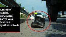 TEM Otoyolu'nda Motosiklet Kamyonete Arkadan Çarptı: 1 Ölü