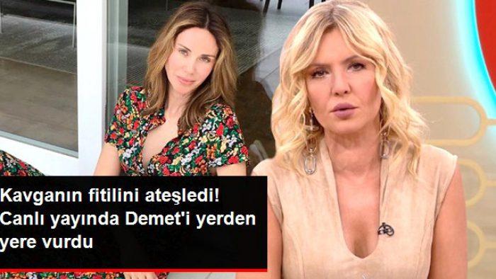 Seda Akgül, Canlı Yayında Demet Şener'e Demediğini Bırakmadı