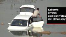 İftara Giden Sürücü Yolu Şaşırınca Aracıyla Baraj Sularına Gömüldü