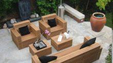 Kübist Bahçe Mobilyaları Örnekleri