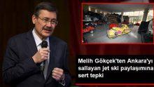 Melih Gökçek'ten CHP'li Gürsel Tekin'in jet ski paylaşımına tepki: Cahille cahil olmak çok ayıp