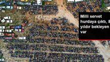 Antalya'da yediemin otoparkları dolup taştı! 8 yıldır bekleyen araçlar var