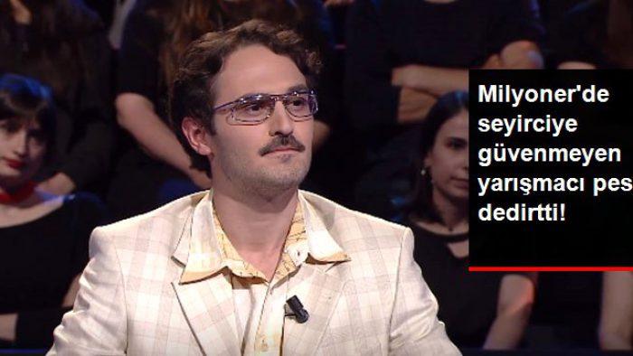 Kim Milyoner Olmak İster'de, Seyirciye Güvenmeyen Yarışmacı Soruya Yanlış Cevabı Verdi