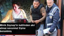 Minik Zeynep'in Başını Tuğla ile Ezen Caniden Akıl Almaz Savunma