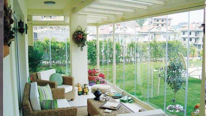 Modern Veranda ve Kış Bahçeleri