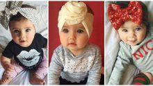 Kız Çocuklar İçin Çok Şirin Saç Bandı  Modelleri