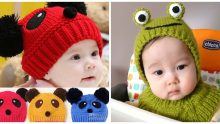 Renkli Bebek Şapkaları