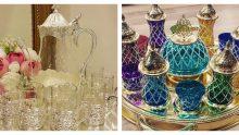 İşlemeli Ve Taşlı Harika Çay Bardağı  Setleri