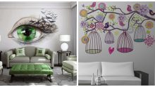 Dekoratif  İtalyan Duvar Boyama Örnekleri