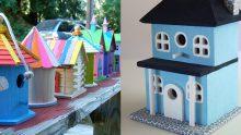 İlginç Kuş Evi Modelleri